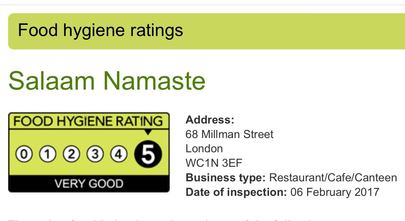 Indian Restaurants London Russell Square Best Indian